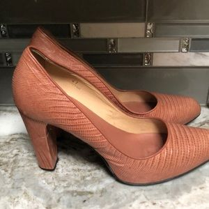 Tod's Shoes - TOD's leather pumps light pink 41 Euro block heel